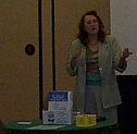 Shirley Fine Lee, author of RARA, speaks at Las Colinas IAAP