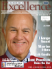 Leadership Excellence Magazine cover