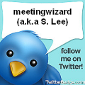 Link to Meeting Wizard on Twitter